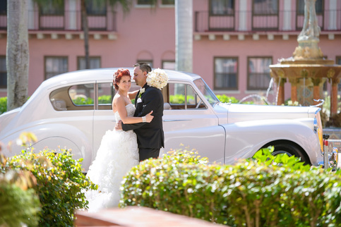 Limos for weddings in Palm Beach, Florida
